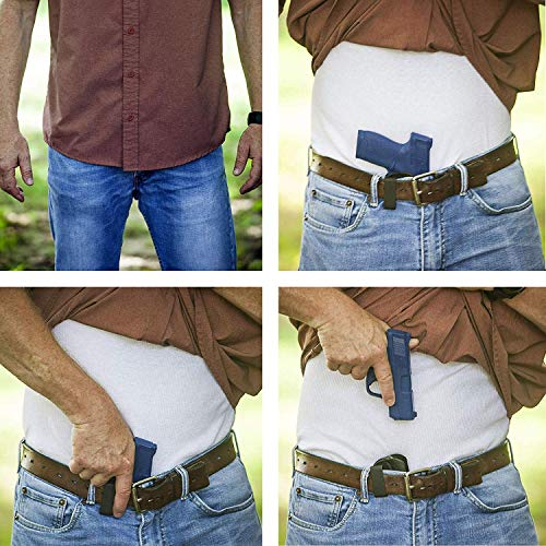 Where to Carry Concealed Pistol Holster Waist Torso Shoulder Ankle Belt Thigh