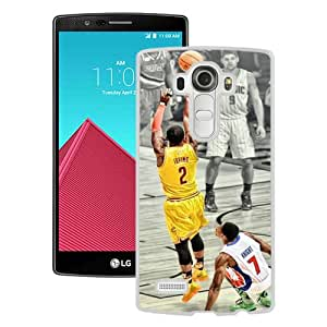 Kyrie Irving White New Cool Custom Design LG G4 Cover Case