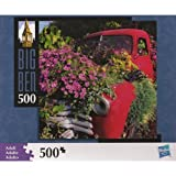 "Big Ben 500 Piece Truck & Flowers Jigsaw Puzzle (Assembled Size: 16"" x 16"")"