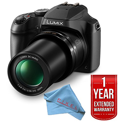 - Panasonic Lumix DC-FZ80 Digital Camera Base Bundle