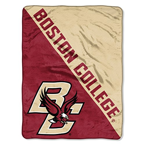 - The Northwest Company Officially Licensed NCAA Boston College Golden Eagles Halftone Micro Raschel Throw Blanket, 46