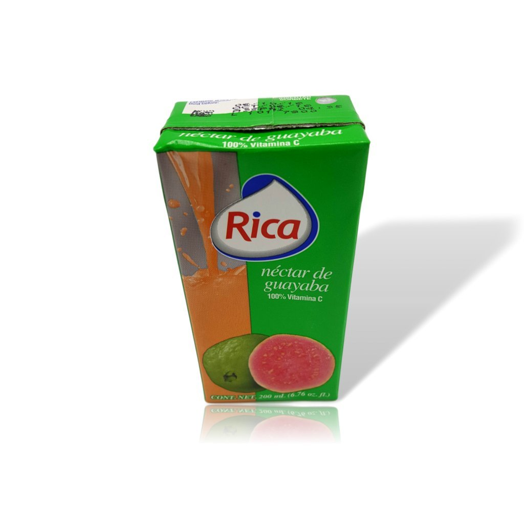 Amazon.com : Rica Orange Juice Drink Jugo de Naranja 200 Ml (12 Pack) : Grocery & Gourmet Food