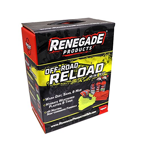 Renegade Products Off Road Reload Mini Detailing & Cleaning Kit UTV, ATV, Motocross Dune Riding, Trail Riding Mudding