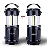 VIBELITE LED Collapsible Portable Outdoor Lantern with Flashlight - Best Reviews Guide
