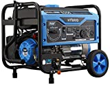 Pulsar 5,250W Dual Fuel Portable Generator with Switch and Go...