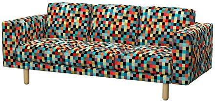 Soferia - IKEA NORSBORG Funda para sofá de 3 plazas, Mozaik ...