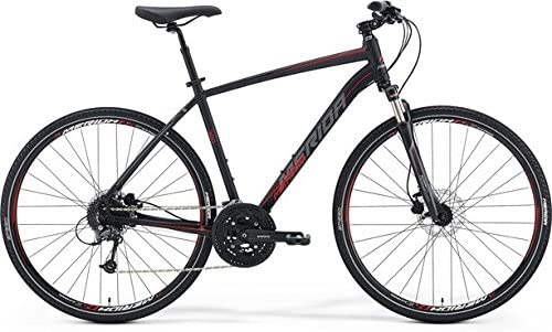 Merida Crossway 300 28 pulgadas Cross Bike Negro (2016), tamaño 58 ...