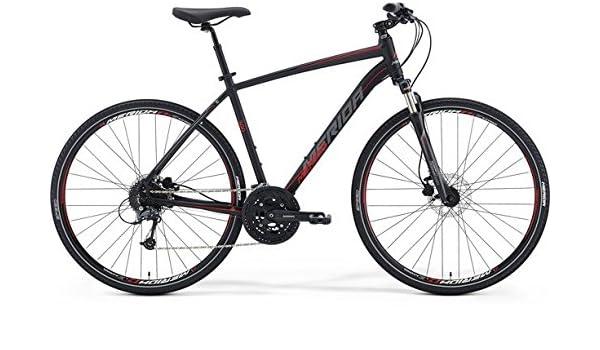 Merida Crossway 300 28 pulgadas Cross Bike Negro (2016), tamaño 58: Amazon.es: Deportes y aire libre