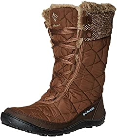Columbia Women's Minx Mid II Omni-Heat Woven Snow Boot