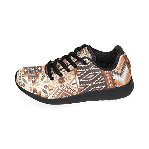 Lightweight Colorful Sneakers 6 US Shoes Casual Tribal 15 Athletic Women's Running Print InterestPrint On Aztec Geometric Pattern Size PdwOPqa