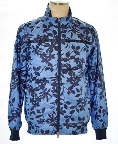 残基スキーム戻すPUMA(プーマ) ゴルフウインドジャケット メンズ メディーバルブルー 923014-02 Oサイズ