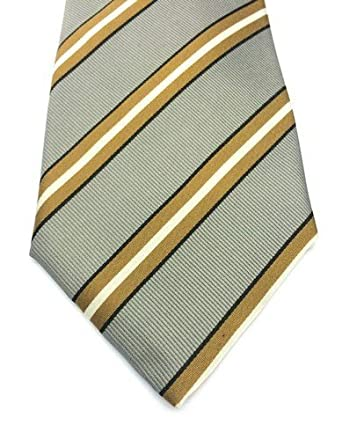 Real Luxury Napoli Regimental Range - Corbata, 3 pliegues, con ...