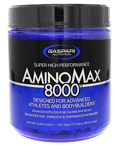 Gaspari Nutrition Amino Max 8000 - 350 Tablets by Gaspari Nutrition by Gaspari Nutrition
