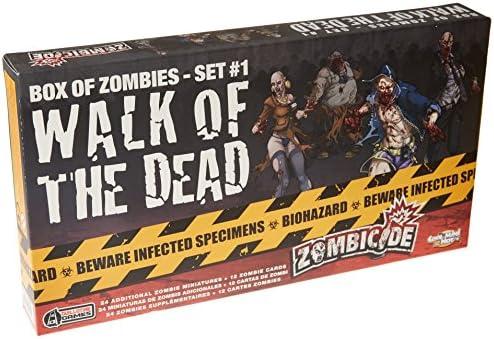 Zombicide Box Of Zombies: Walk Of The Dead Set #1 - Juego de ...
