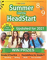 Lumos Summer Learning HeadStart, Grade 8 to 9: Includes Engaging Activities, Math, Reading, Vocabulary, Writing and Language Practice: Standards-aligned Summer Bridge Workbooks and Resources for Students Starting High School