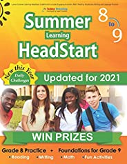 Lumos Summer Learning HeadStart, Grade 8 to 9: Includes Engaging Activities, Math, Reading, Vocabulary, Writin