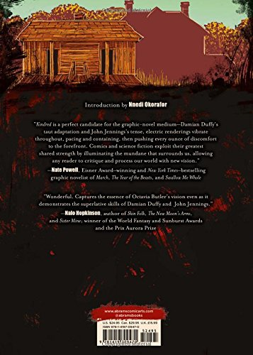 a literary analysis of kindred by octavia e butler The hardcover of the kindred by octavia e butler at barnes & noble free shipping on $25 or more a literary masterpiece novelist octavia e butler introduces an instance of literature regarding to a life's existence in the present and a character analysis author biography study.
