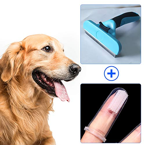 Thistars Pet Cleaning Tools Pet Hair Brush Safety Blade Clean The Hair of Small, Medium and Large Cats and Dogs