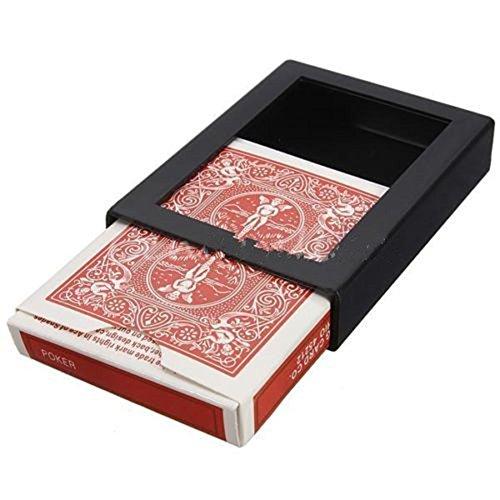 - Ameesi Creative Deck Vanish Disappearing Vanishing Poker Card Close Trick Box Tool