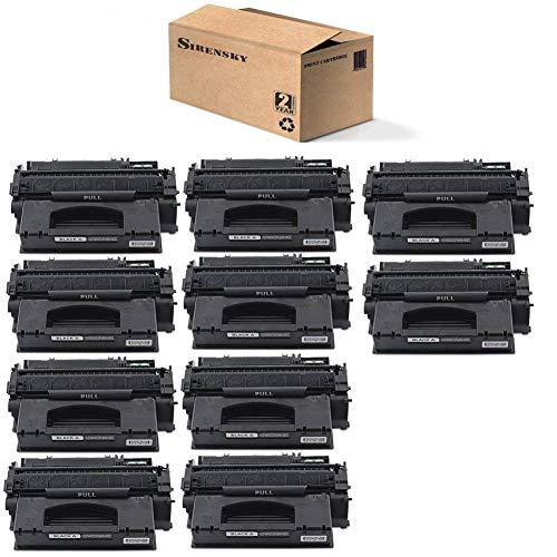 (Sirensky 49X Q5949X Toner Cartridge 10 Pack Replacement for Laserjet 1320 1320n 1320t 1320tn 3390 3392 P2014 P2015 P2015d P2015dn P2015x M2727nf Series Printers, Brand)