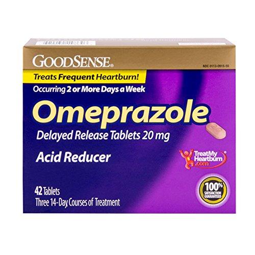 Sens oméprazole libération retardée, Acid Reducer comprimés 20 mg, 42 comte
