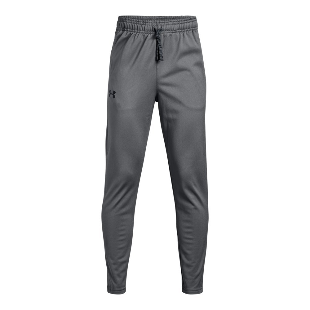 Under Armour Brawler Tapered Pants, Graphite/Black, Youth Medium by Under Armour
