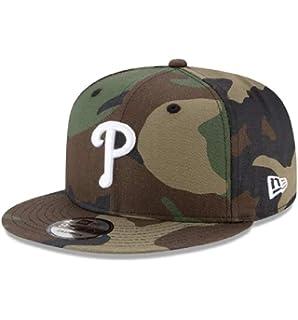 7d77b371 New Era Philadelphia Phillies Adjustable 9Fifty MLB Straight Brim Baseball  Cap 950