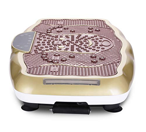 TODO Vibration Platform Power Plate Wholebody Vibrating Massager- Remote Control/Bluetooth Music/USB Connection(Gold-Smile) by TODO (Image #5)
