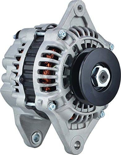 Internal Regulator - New DB Electrical ROTA0209 Alternator for 0.083333 Clock 80 amp Internal Fan Type Internal Regulator CW Rotation 12V Kubota V3300 397-9953, 23992