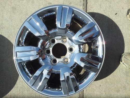 18 Inch 2009 2010 2011 2012 Ford F150 Truck Factory Original OEM Chrome Clad Wheel Rim AL3J1007CA 3785 560-03785 18x7.5