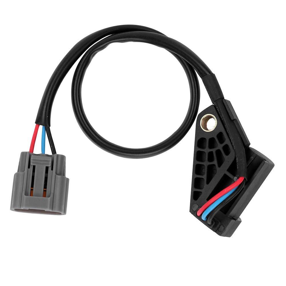 Cuque ZL0118221 Crank Position Sensor for Mazda 323 MK VI 1.4 1.5 1.61.92.0D Demio1.3 1.5 MX-5 MK II1.6 1.8 1998-2005 FSD-18-221 ZL0118221A BP4W18221A BP4W18221B ABS Plastic Black Special