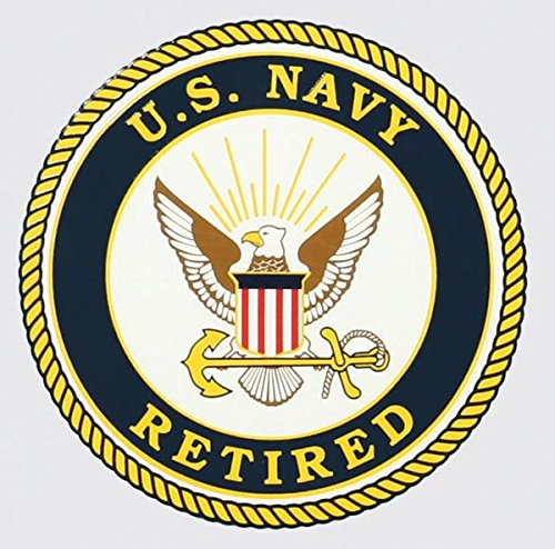 United States Navy Retired Seal Car Decal US Navy Gifts Military Products
