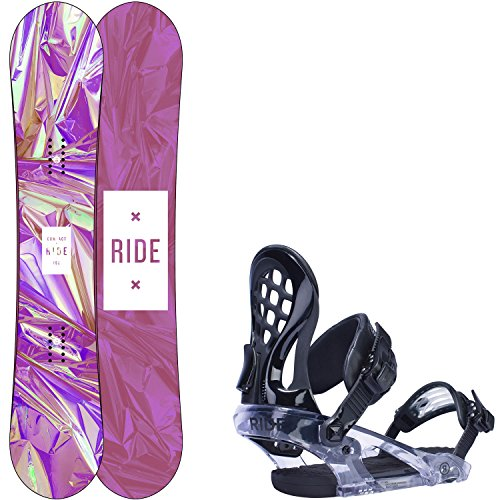 Ride Compact 139cm Womens Snowboard KS Bindings - Fits US Wms Boots Sized: 6,7,8