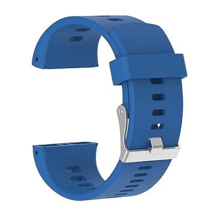 Pulsera inteligente de repuesto para reloj inteligente Polar V800, correa de silicona de repuesto,