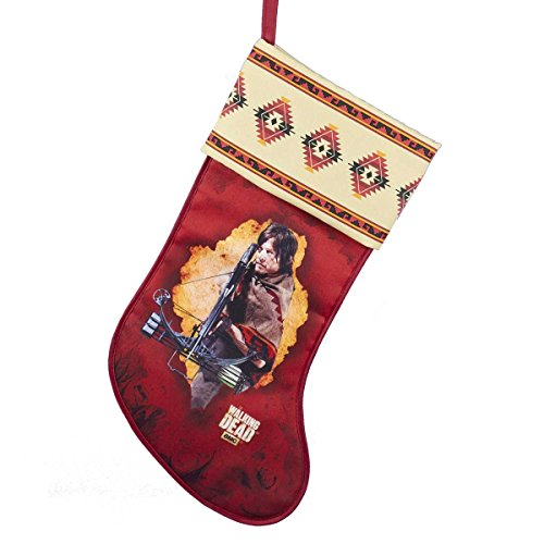 Kurt Adler The Walking Dead Printed Stocking