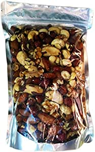 Raw Unsalted Mixed Nuts (Almonds, Brazil Nuts, Cashews, Hazelnuts and Walnuts) 24 oz