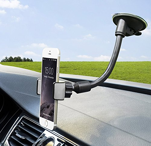 SuperGear Flexible Universal Windshield Suction