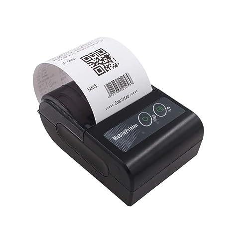 OUYANG Impresora portátil, Bluetooth 4.0 inalámbrico ...