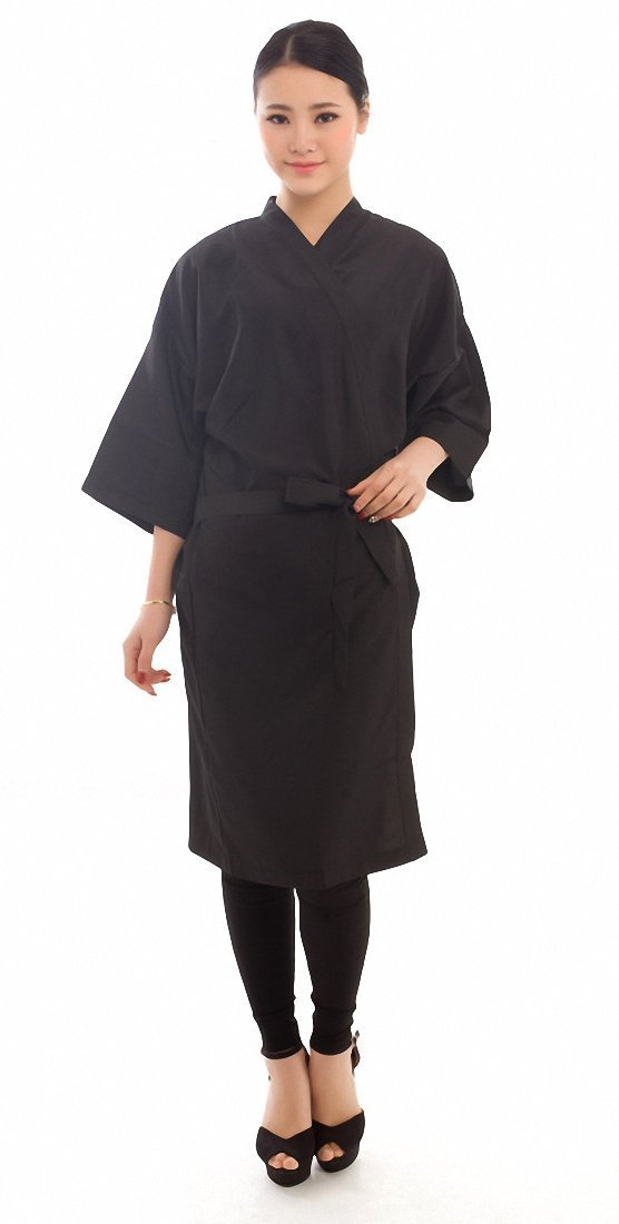 Salon Client Gown Robes Cape, Hair Salon Smock for Clients - Kimono Style Perfe Hair SW005