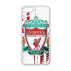 Beautiful Pattern FC Liverpool Logo IPhone 5C Cover Case For Fans