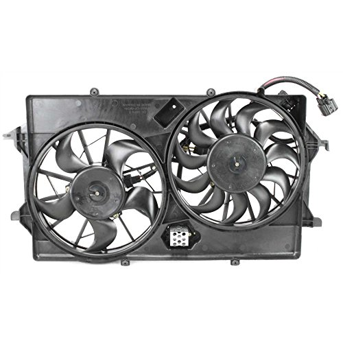 Evan-Fischer EVA24572017174 Radiator Fan Assembly for FOCUS 03-07 - Ford Focus Radiator Fan
