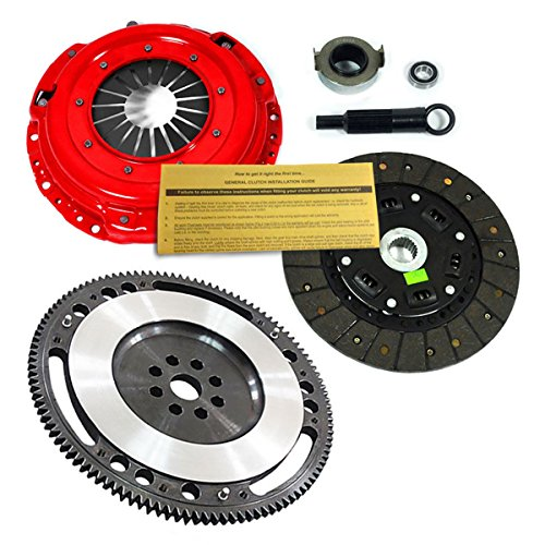 EFT STAGE 2 CLUTCH KIT+CHROMOLY FLYWHEEL B18A1 B18B1 B18C1 B18C5 B20B B20Z HYDRO