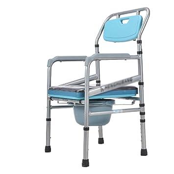 L-Y Silla de Ruedas, Inodoro para Discapacitados Asiento de ...