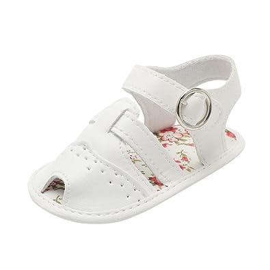 683a725308215 OHQ BéBé Bow Stripe Fleurs Sandales Bambin Chaussures Rose Or Blanc GarçOn  Enfants Garcon Mariage Plastique