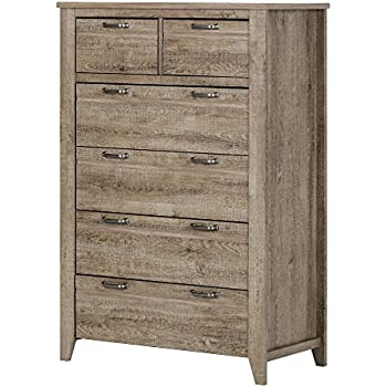 this item south shore lionel 6drawer lingerie chest weathered oak