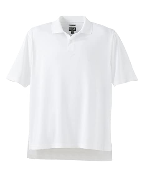 the latest 751b1 f27a9 Adidas ClimaCool Textured Golf Polo Shirt (XXL, White)