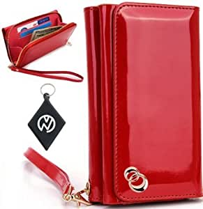 Acer Allegro Women's Uptown Wristlet Wallet Clutch with Dual Compartment, Built-In Credit Card Slots and Internal...