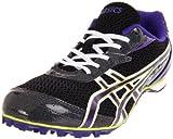 ASICS Women's Hyper-Rocketgirl 5 Running Shoe,Storm/Violet/Lime,6 M US