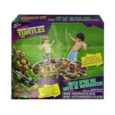 Teenage Mutant Ninja Turtles 35 Water Spray Mat - TMNT Splash Sprinkler by Nickelodeon