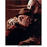 Freddy vs. Jason (2003) 8 inch by 10 inch PHOTOGRAPH Ken Kirzinger & Robert Englund from Chest Up kn
